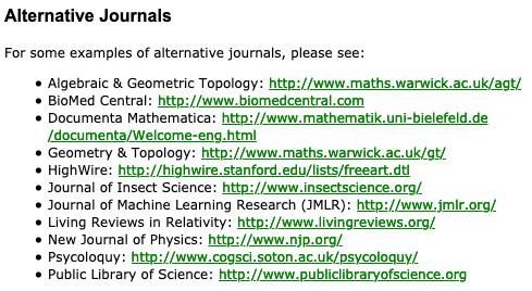 11 journals